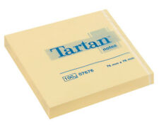 Haftnotiz Notes, 76 x 76 mm, 63 g/qm, gelb, 100 Blatt (Tartan; #Notizblock# 0...