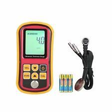 Amgaze Digital Ultrasonic Thickness Meter Tester Gauge Velocity 1.2~225mm Metal