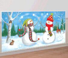 Snowman Scene Setters Add Ons Wall Decoration Kit