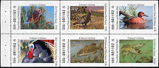 TEXAS #35 2014  STATE DUCK  STAMP CINNAMON TEAL  IN BOOKLET OF 6 DIFFERENT
