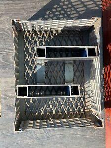 Removable Snake Charcoal Log Basket -fully custom made in South Australia