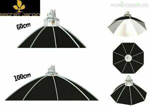 Secret Jardin Daisy Grow Light Parabolic Reflector 60cm 100cm E40 - 80cm CDM CMH