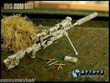 1:6 ZY Toys Desert Camo ZY-8036C LRSW TAC-50 Sniper Rifle Model F 12'' Figure