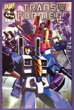 TRANSFORMERS: GENERATION ONE 2 May 2002 9.2-9.4 NM-/NM DECEPTICON VARIANT COVER!