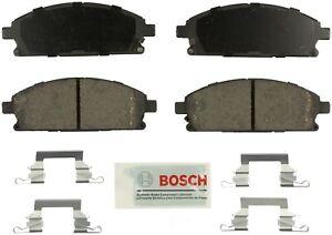 Disc Brake Pad Set-Blue Brake Pads with Hardware Front Bosch BE691H