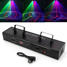 530mW 4 Lens RGBB Red Blue Green Stage DJ Laser Disco 4 Beam Light Auto / DMX512