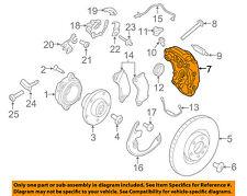 PORSCHE OEM 15-17 Macan-Disc Brake Caliper Left 95B615123D