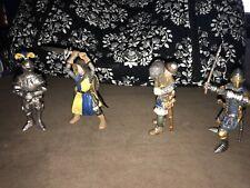 Lot Of 4 schleich Knights Figures