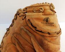 Vintage Nokona Baseball Catchers Glove Mitt Professional Model Pro Line CM200 RH