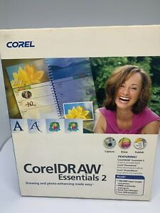 CorelDRAW Essentials 2 Boxed Edition NEW Sealed - Drawing & Photo Enhancing