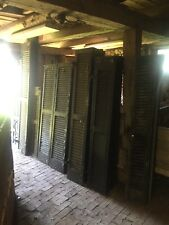 29 Farm House Shutters antique wood 1800s vintage colonial shudders reclaimed