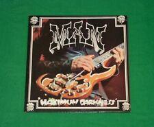 MAN Maximum Darkness PROG PSYCHEDELIC ROCK LP 1975