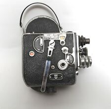 Rare Vintage Cinema 16mm Bolex Paillard Film Camera  with 3 lenses  -  Working