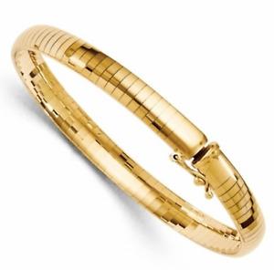 """Omega Bracelet in 14kt Yellow Gold Classic Bracelet 7"""""""