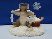 "Charming Tails ""You're My Snowflake"" By Floyd & Floyd In Excellent Condition"