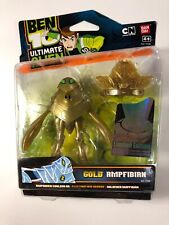 *VERY RARE* NEW - 2010 Ben 10 GOLD AMPFIBIAN - ULTIMATE ALIEN Action Figure