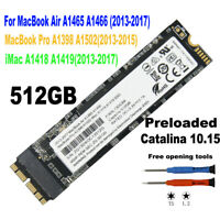 NEW 512GB SSD for 2013 2014 2015 MacBook Air A1465 A1466 MacBook Pro A1502 A1398
