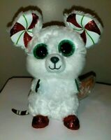 Ty Beanie Boos - CHIMNEY the Christmas Mouse (6 Inch)(UK Exclusive) NEW MWMT
