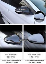 Carbon Pattern Side Mirror Covers for Hyundai Elantra (Avante) AD 2017+