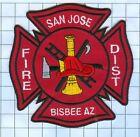 Fire Patch - San Jose Bisbee AZ
