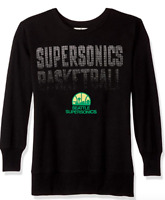 Seattle Supersonics Sweatshirt Womens XL/2XL NBA Basketball Bling Pullover NEW