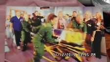 Casualty series Cast photo signed by all cast on the back