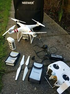 DJI Phantom 3 Standard Drone [BIG BUNDLE] - used but working!