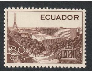 Ecuador # 649 , UNESCO , VF OG NH - I Combine S/H