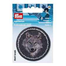 Prym Applikation  Patch Wolf anthrazit/grau 1 St Art-Nr. 923178