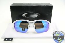 Oakley Flak Beta Sunglasses OO9363-0364 Polished White Frame W/ Sapphire Iridium