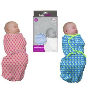 Baby Swaddle Wrap Pre-Shaped Swaddling Blanket Infant Soothing Cover  0-3 months