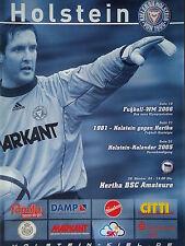Programm 2004/05 KSV Holstein Kiel - Hertha BSC Am.