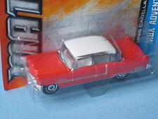 Matchbox 1955 CADILLAC FLEETWOOD rouge corps BP Classic USA jouet voiture modèle 75 mm