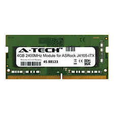 A-Tech 4Gb 2400Mhz Ddr4 Ram for Asrock J4105-Itx Laptop Notebook Memory Upgrade