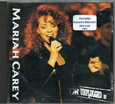 MARIAH CAREY UNPLUGGED EP with original promo sticker on cover 1992