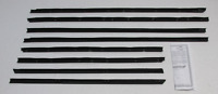 1964 Buick Skylark 2 Door Hard Top New Repops Window Felt Weatherstrip Kit 8pc