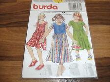 BURDA Schnittmuster 3281             3x  KLEID im DIRND-STIL              98-128