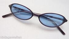 Esprit Sonnenbrille Kunststoff schwarz Kunststoffgläser 75% grau blau neu size M