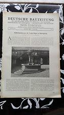 1927 43 Helsingborg Brunnen Tycho Brahe / Bad Bambach RAdium Klinik