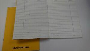 Homework Diary  8 inch x 6 Inch -  FREE POSTAGE