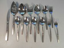 New listing Oneida Community Flight Serving Pieces Spoons Salad Forks Lot of 13 Stainless
