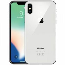 Apple iPhone X - 64GB - Argento (Sbloccato) (MQAD2QL/A)