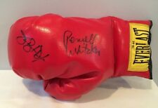 """Dual Autographed Boxing Glove By James """"Buster"""" Douglas & Pernell Whitaker WOW"""