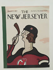 NJ Devils vs NY Rangers Gameday Poster 3/21/17 The New Jerseyer