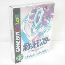 POKEMON CRYSTAL Brand New Game Boy Color Nintendo Poket Monsters Japan Game gb