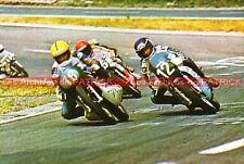 PONS Patrick (YAMAHA N°12) VIRTANEN Tapio Carte Postale Moto Motorcycle Postcard