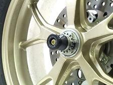 R&g Racing rueda trasera eje protectores para adaptarse a Ducati Monster 1100 / S 2009 -