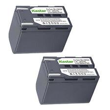 2x Kastar Battery for Samsung SB-LSM320 VP-D365Wi D371 D372 D375 D451 D453 D454