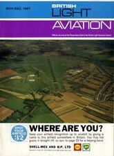 LIGHT AVIATION MAGAZINE 1967 DEC MIDLAND SYMPOSIUM, DEUX CENT TRENTE, MALAGA