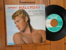 Vinyles de Johnny Hallyday, 45 tours